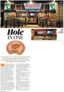 Society PR & Communications | Krispy Kreme | August 2016 | City Press