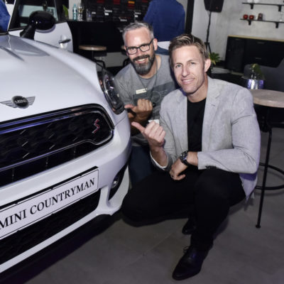 Terrence Herbert MINI Bedfordview Manager and Guy Kilfoil DP of BMW and MINI Bedfordview