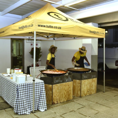 Tutto food stall